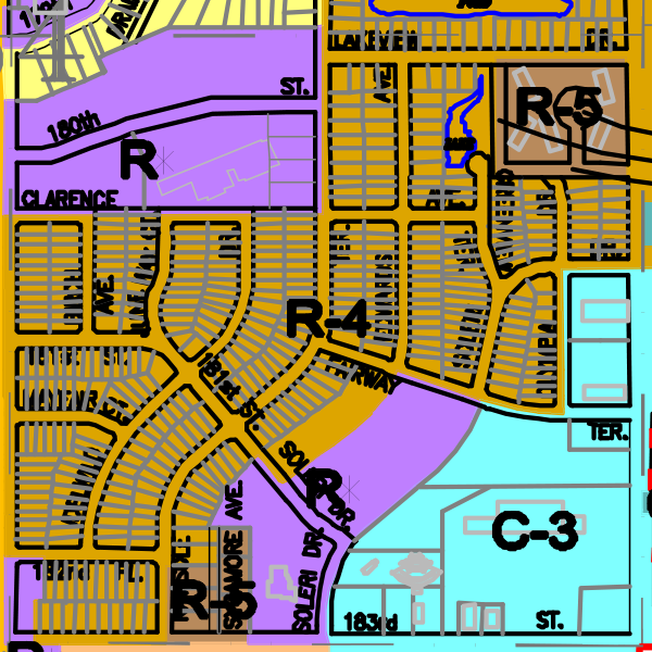 Zoning Map | Welcome to the City of Country Club Hills